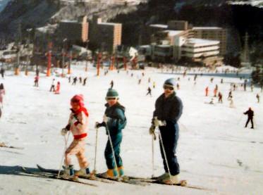 昔のスキー写真